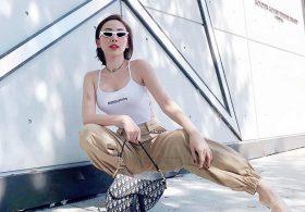 Mẫu túi bao tử của Dior đang được Tóc Tiên và sao Việt yêu thích